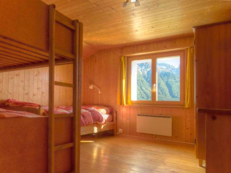 """Chasa Spadla: """"Kinder""""-Schlafzimmer im ersten Stock"""